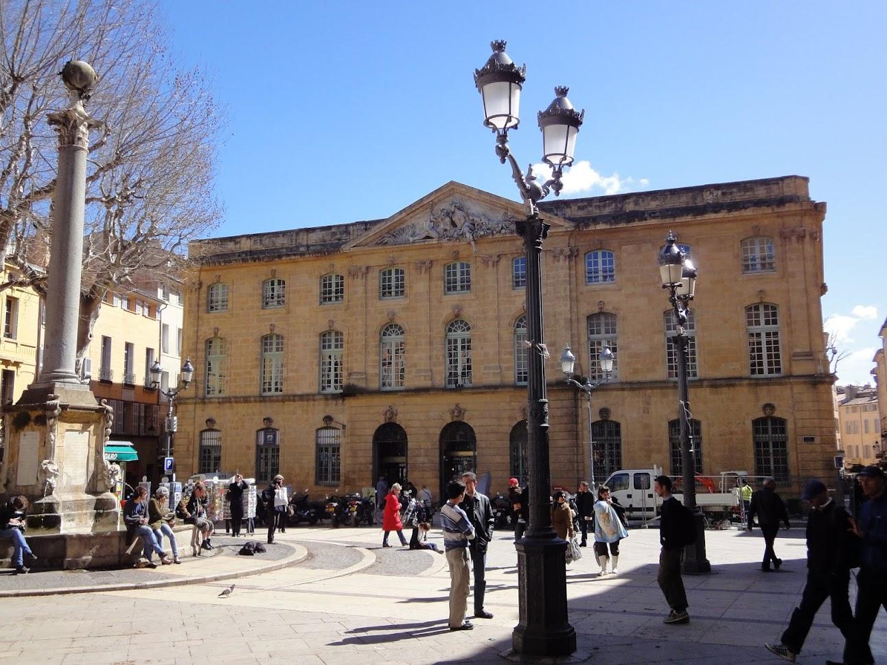 Ancienne Halle aux grains à Aix-en-Provence