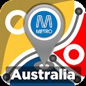 Australia Rail & Metro Maps icon
