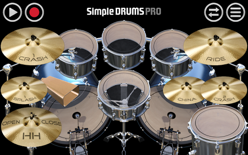 Simple Drums Pro - The Complete Drum Kit 1.2.9 screenshots 1