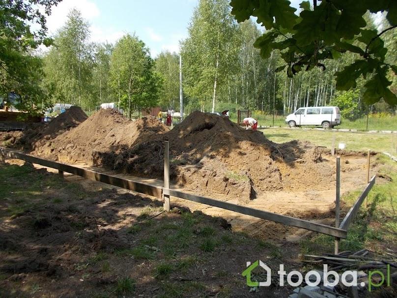 Przygotowania przed budową fundamentów