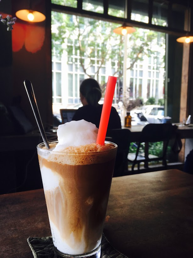 Iced Blended Coconut Coffee @ Cong Caphe