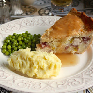 Chicken, Brie and Cranberry Pie Recipe and a Day in Battle and Bexhill, England