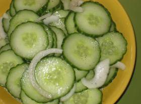 Russ's Cucumber Salad Recipe
