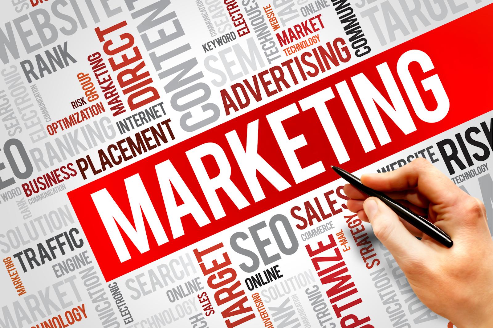 Một vài hình thức của dịch vụ marketing