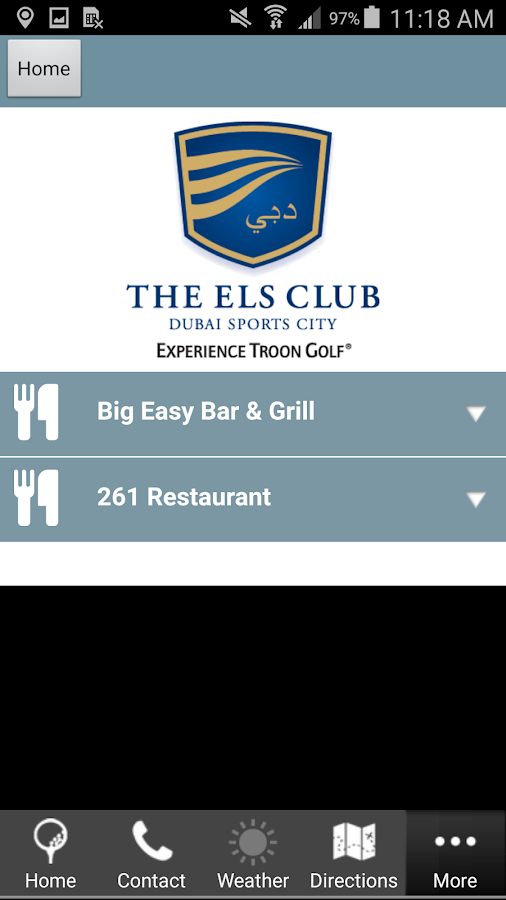 The Els Club- screenshot
