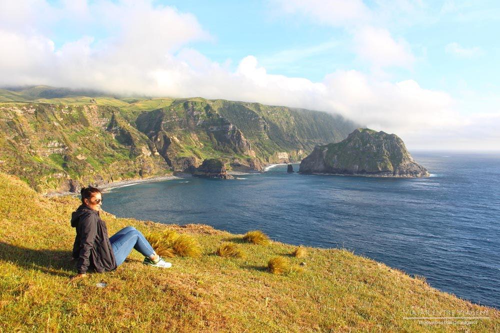 Ilha das FLORES 🇵🇹 Dia 1   Crónicas de Viagem aos Açores