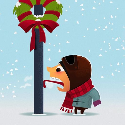 个人化の冬の休日の Lwp LOGO-記事Game