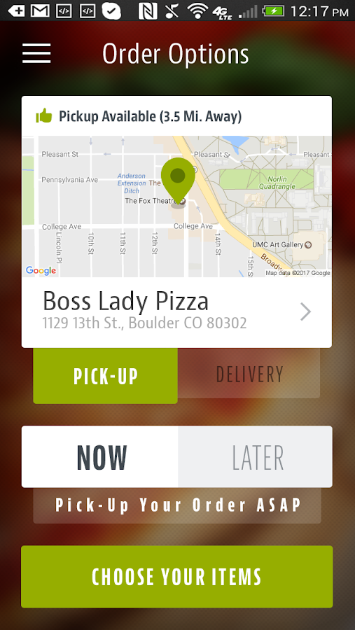Boss Lady Pizza- screenshot