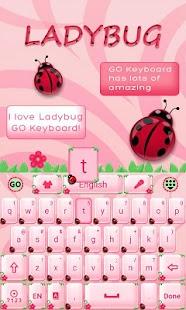 Cute-Ladybug-GO-Keyboard-Theme 3