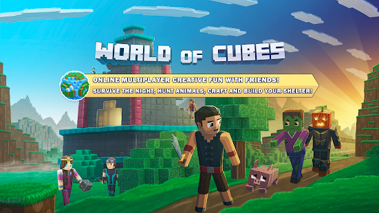 World of Cubes Survival Craft- screenshot thumbnail