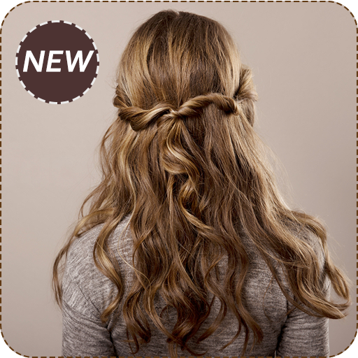 Hairstyle for girls ideas 2018 (app)