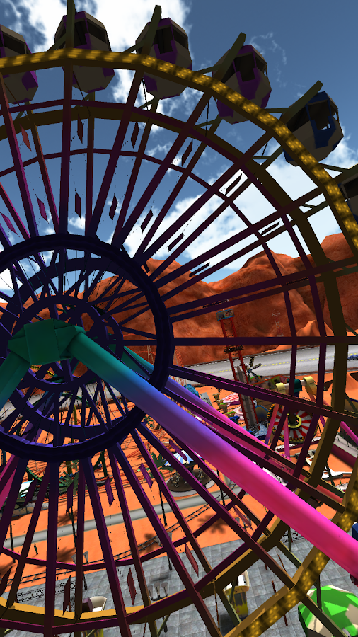 VR Funfair (Google Cardboard)- screenshot