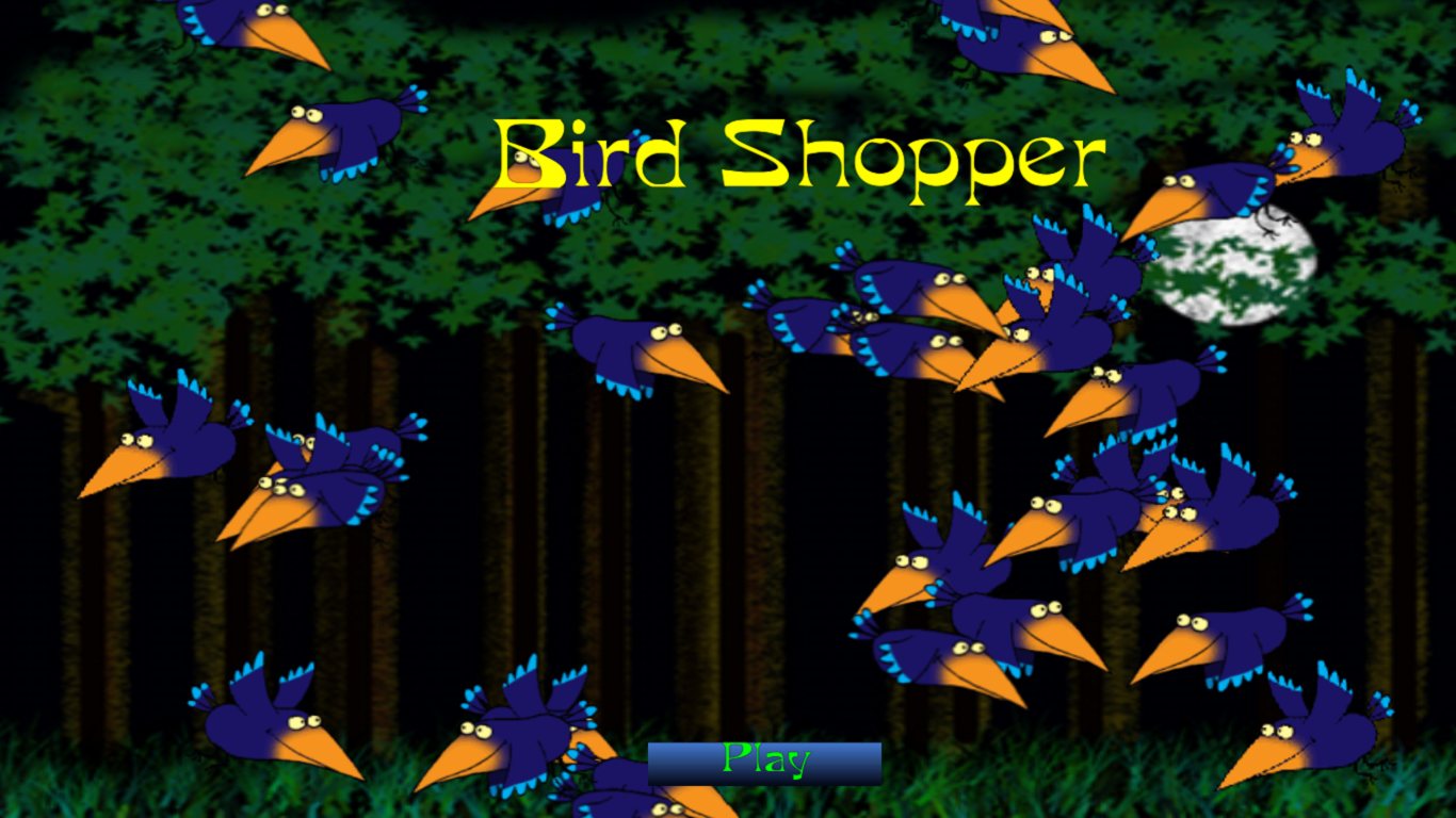 BirdShopper- screenshot