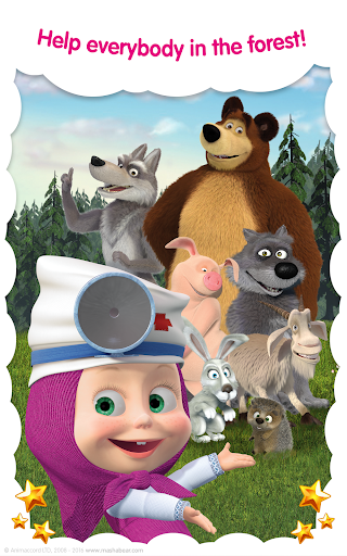 Masha and the Bear: Free Animal Games for Kids  screenshots 12