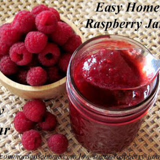 Low Sugar Raspberry Jam-Jelly