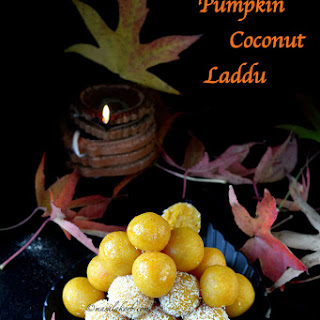 Pumpkin Coconut Laddu   Kaddu Ka Meetha   Pumpkin Coconut Dessert Recipe