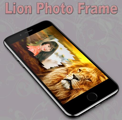 Lion Photo Frame 1.1 screenshots 1