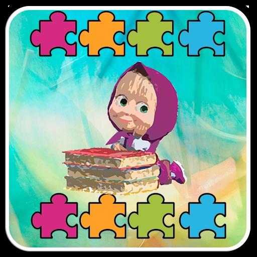Puzzle Jigsaw Masha World Happy