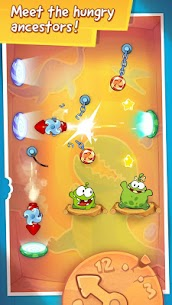 Cut The Rope Time Travel Mod Apk 1.11.1 (Unlimited Powers + Hints) 4