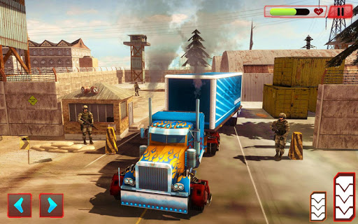 Heavy Truck Robot Giant Truck Driver Simulator 9 screenshots 7