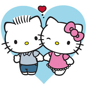 Hello Kitty Wallpaper Entitled Sunflower Coloring Page
