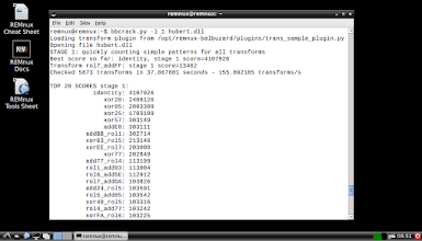 Photo: TheBalbuzard toolkit by Philippe Lagadec, installed on REMnux, is able to automatically decode common obfuscation techniques.