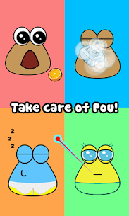 Pou Mod APK Latest Version Download Unlimited (Coins / Items) -Updated 2020 1