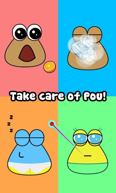 Pou Android App Screenshot