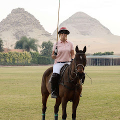 Working with Horses in Egypt Woman Polo Player | Krys Kolumbus Travel
