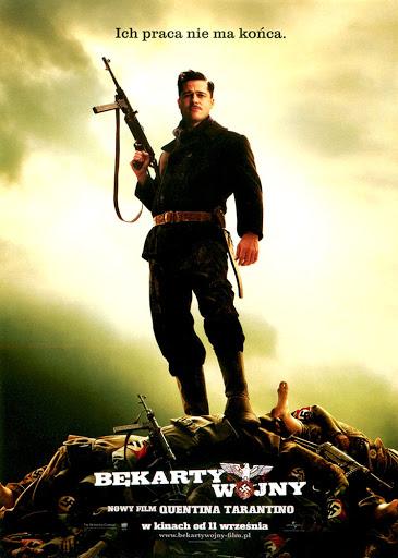 Przód ulotki filmu 'Bękarty Wojny'