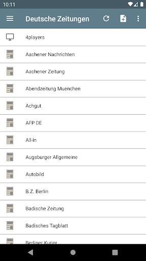 Deutsche Zeitungen 2.2.3.5.6 screenshots 7