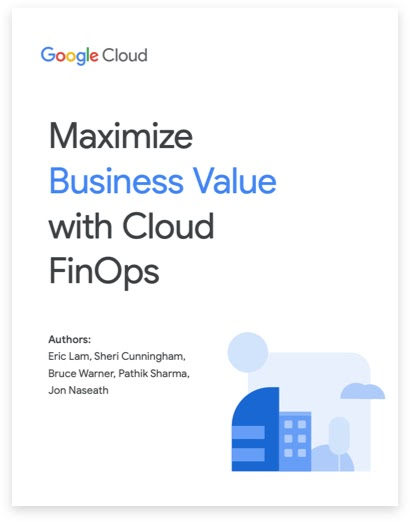 Image of whitepaper cover page: Maximize business value with cloud FinOps