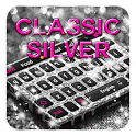 Classic Silver Keyboard icon