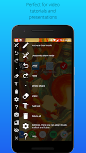 Screen Draw Screenshot Pro 1.0 Mod Apk Download 7