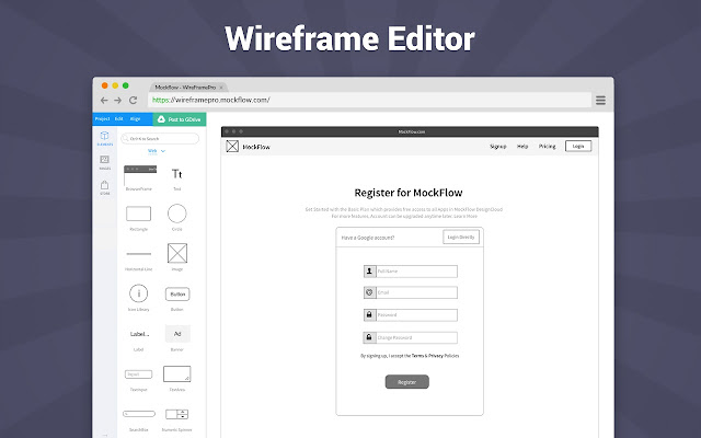 online wireframe tool - Website Wireframe Tool Online