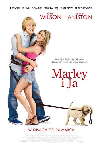 Polski plakat filmu 'Marley i Ja'