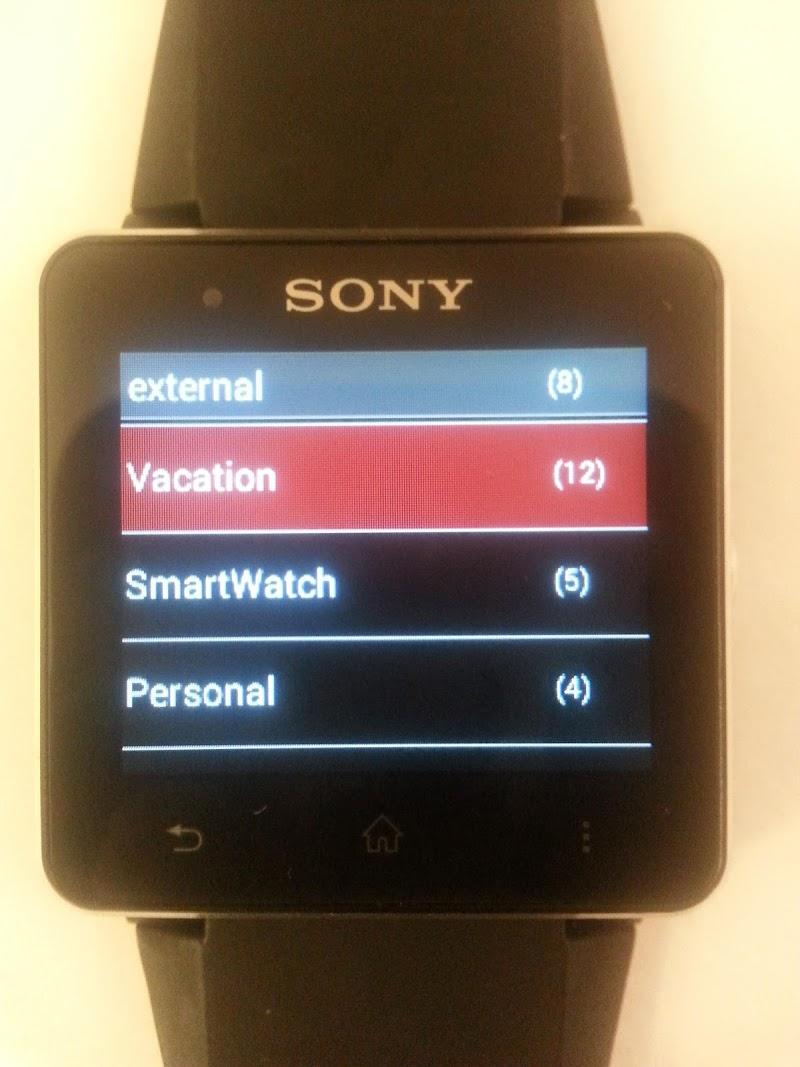 Скриншот SmartWatch Gallery