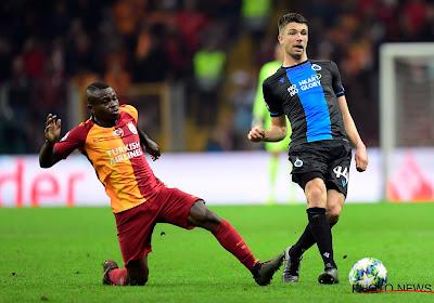 """Brandon Mechele après le point précieux pris au Galatasaray: """"C'est merveilleux"""""""