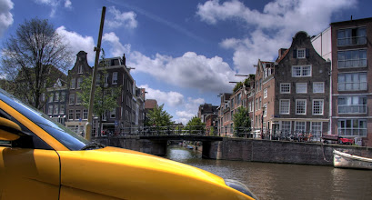 Photo: Amsterdam kanalları