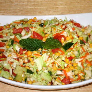 Cabbage Chana Dal Salad Recipe