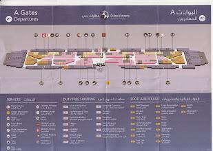Photo: Et encore faut-il savoir de quel Terminal faut-il embarquer pour le prochain vol, car il y en à 3 : Chaque Terminal a une longueur de 1000 mètres