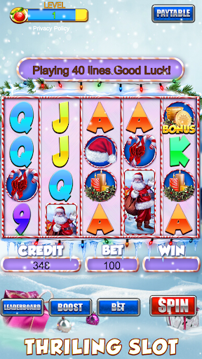 Slot Machine: Free Christmas Slots Casino Game 1.2 screenshots 10