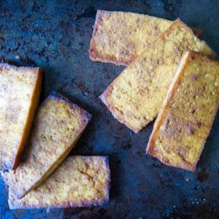 Savory Baked Tofu.