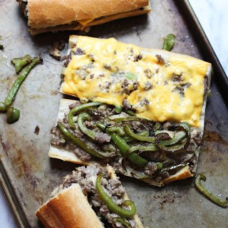 """Lazy Girl's """"Philly Cheesesteak"""""""