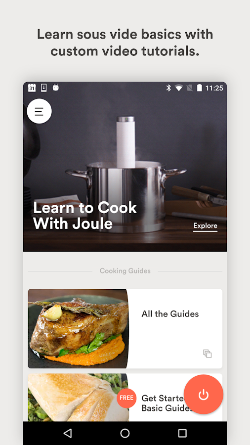 Joule: Sous Vide by ChefSteps- screenshot