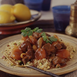 Lamb, Apricot and Almond Tagine.