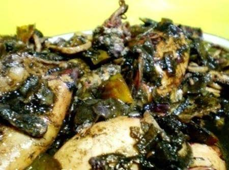 Adobong Pusit Recipe