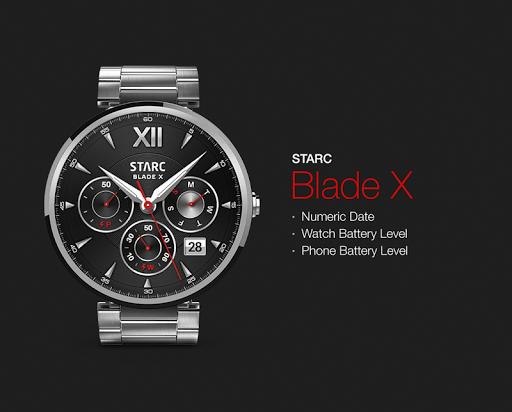 Blade X watchface by Starc