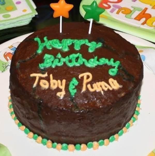Puma & Toby's Birthday Cake - 1 Yr Old - October 30, 2012