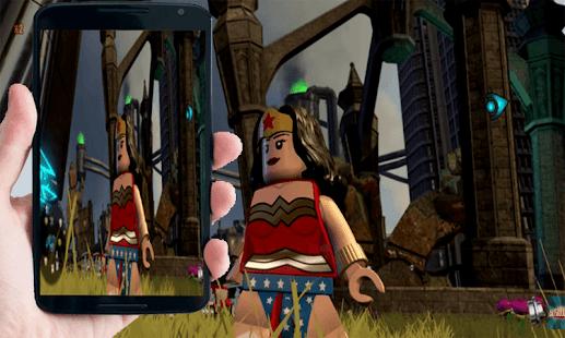 Gameplay Lego Super Heroes Girls - náhled